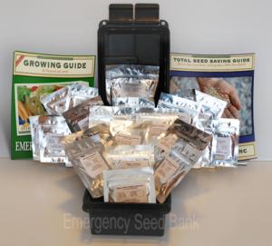 emergency seed bank ammo packaging