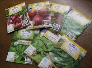 Seeds for survival garden